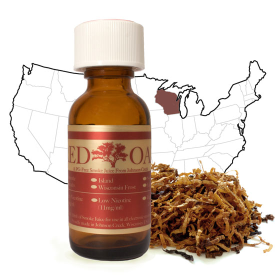 Red Oak PG Free Domestic Smoke Juice