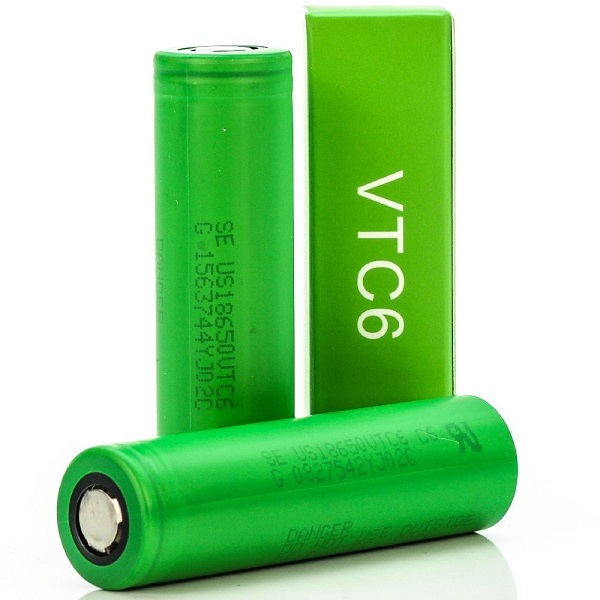 Sony VTC6 3000mAh Battery Pair